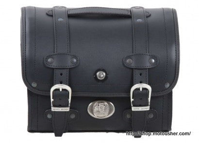 Small Leather Bag 25L Buffalo by Hepco Becker - Bike 'N' Biker