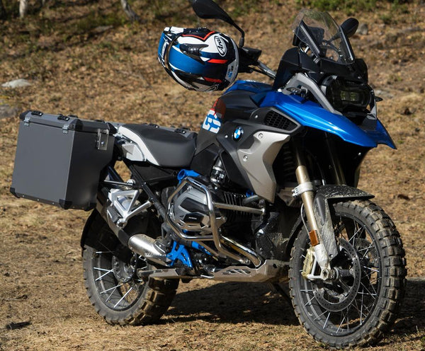 BMW R1200GS Luggage - Defender side cases (Frozen Grey) Bumot