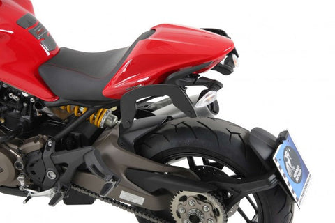 Ducati Monster 1200 S C-Bow soft bag carrier Hepco Becker - Bike 'N' Biker