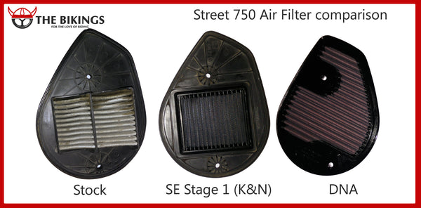 Harley-Davidson Street 750 Air Filter - DNA - Bike 'N' Biker