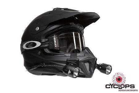 Helmet Extreme Racer LED Helmet Light Cyclops - Bike 'N' Biker
