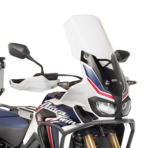 Transparent Windscreen for Honda Africa Twin (2017+) - Givi