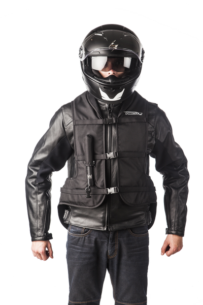 Helite Turtle Airbag Vest Black - Bike 'N' Biker