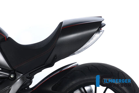 Carbon Seat Cover for Ducati Diavel - Ilmberger Carbon