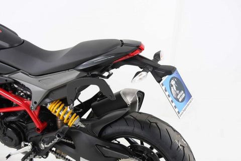 Ducati Hypermotard 821 SP C-Bow soft bag carrier Hepco Becker - Bike 'N' Biker