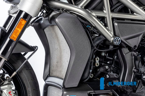 Radiator Cover Set for Ducati Diavel - Ilmberger Carbon