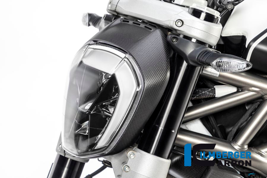 Headlight Cover For Ducati Xdiavel Ilmberger Carbon
