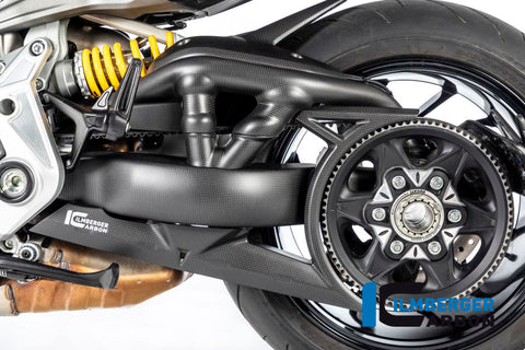 Swingarm Cover Set for Ducati Diavel - Ilmberger Carbon, Germany