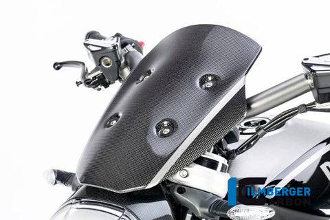 Carbon Windshield for Ducati XDiavel - Ilmberger Carbon
