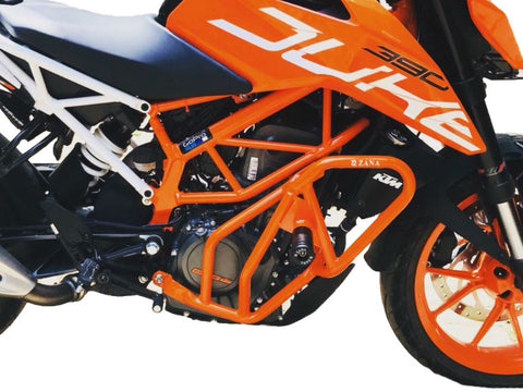 Zana KTM Duke 250 / 390 (2017+) Engine Guard (Orange)