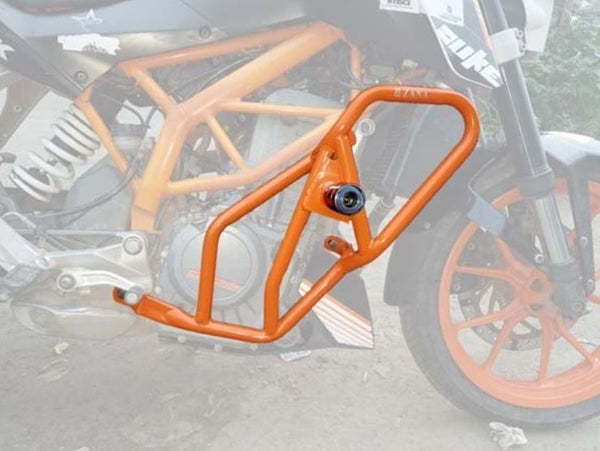 KTM Duke 2013-2016 Engine Protection Bar (Orange) - Zana