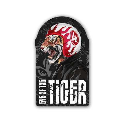 Eye of the Tiger - Sticker - Inline-4