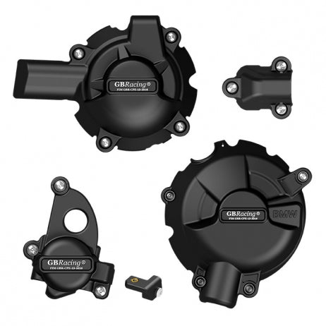 Secondary Engine Cover Set for Honda CBR650F (14-20), CBR650R & CB650 (19-20) - GB Racing