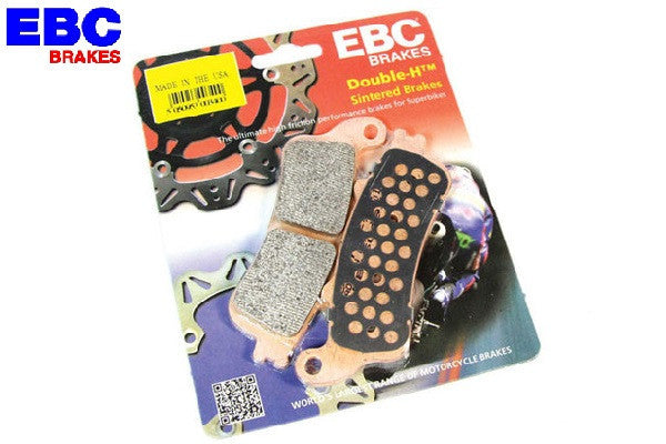 Triumph Street Triple 675 Double H EBC Brake Pads - Bike 'N' Biker