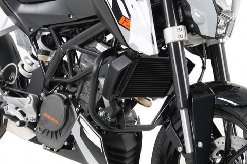 KTM Duke 200 Engine protection bar black Hepco Becker - Bike 'N' Biker
