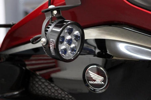Clearwater Lights Auxiliary LED 12000LU - Erica (Pair) - Honda Goldwing