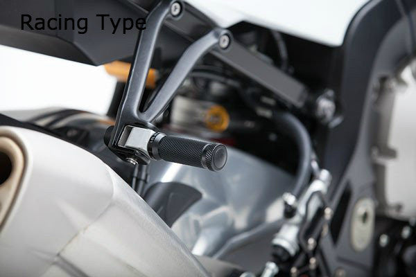 Triumph Street Twin Footpegs - Sports and Racing Type - LSL - Bike 'N' Biker