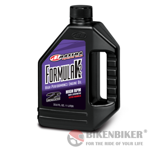 Formula K2 2-Stroke Engine Oil - Maxima Racing Oils