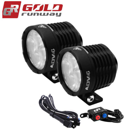 Gold Runway LED Lights - ADV4