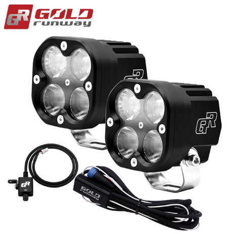 Gold Runway LED Lights - GR-X4