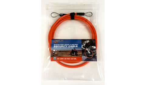 Cables QuickLoop & OnGuard Padlock Giant Loop - Bike 'N' Biker