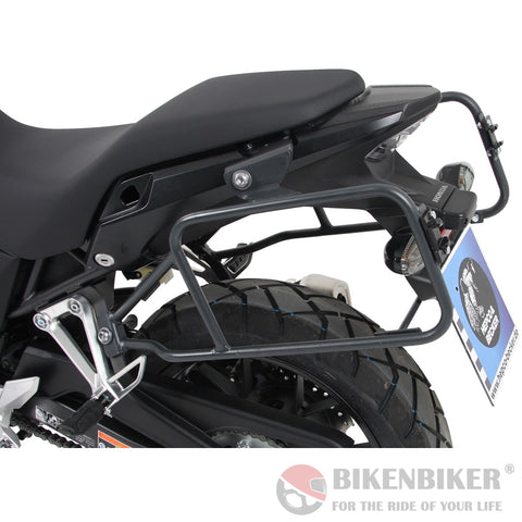 Sidecarrier Lock-It - Anthracite For Honda CB500X (2019-) - Hepco & Becker