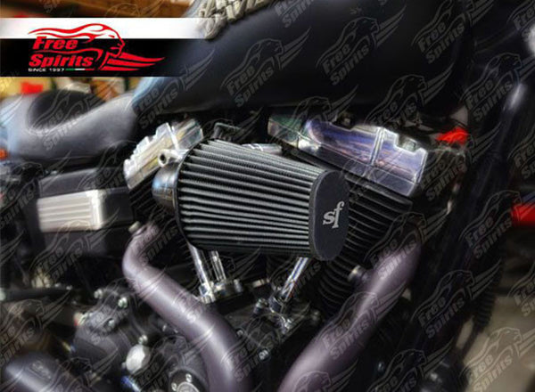 HD Big Twin High Flow Aircleaner (Water repellent) Kit - PREORDER - Bike 'N' Biker
