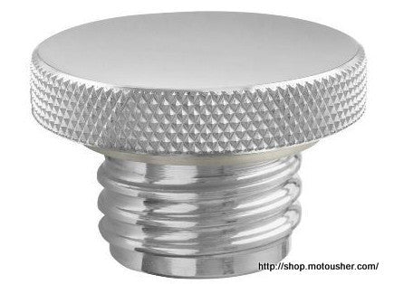 HD Sportster/Big Twin Billet 83-2014 Petrol Fuel/Gas Tank Cap Chop - PREORDER - Bike 'N' Biker