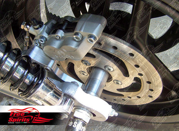 HD XR1200 Rear Bracket Brake Calliper 4 Pot - PREORDER - Bike 'N' Biker