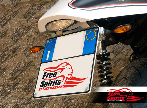 Harley Davidson XR1200 License Plate Support For Italy - PREORDER - Bike 'N' Biker