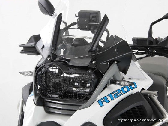 Head light grill BMW R 1200 GS Hepco Becker - Bike 'N' Biker