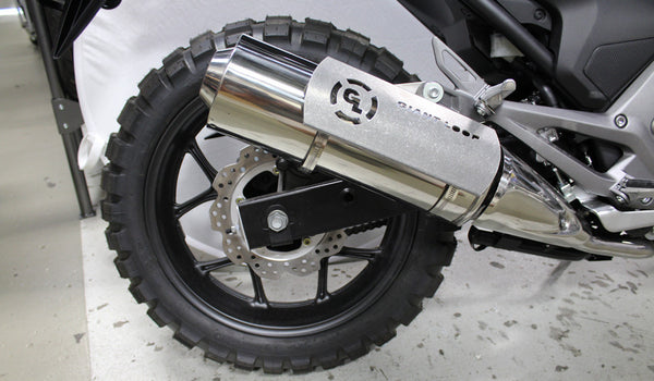 Hot Springs GRANDE Heat Shield (includes 2 stainless clamps) GiantLoop - Bike 'N' Biker