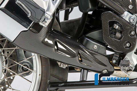 Carbon Silencer Protector for BMW R1200GS/Adventure LC - Ilmberger Carbon