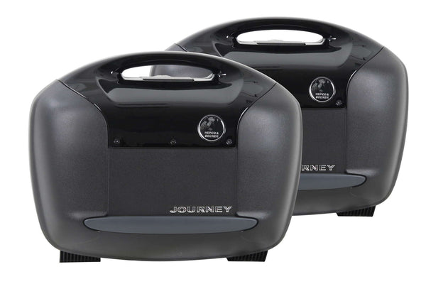 Sidecases 42L Journey Black (Pair)