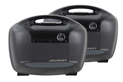 Sidecases 42L Journey Black (Pair) - Bike 'N' Biker