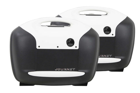 Sidecases 42L Journey White (Pair) - Bike 'N' Biker