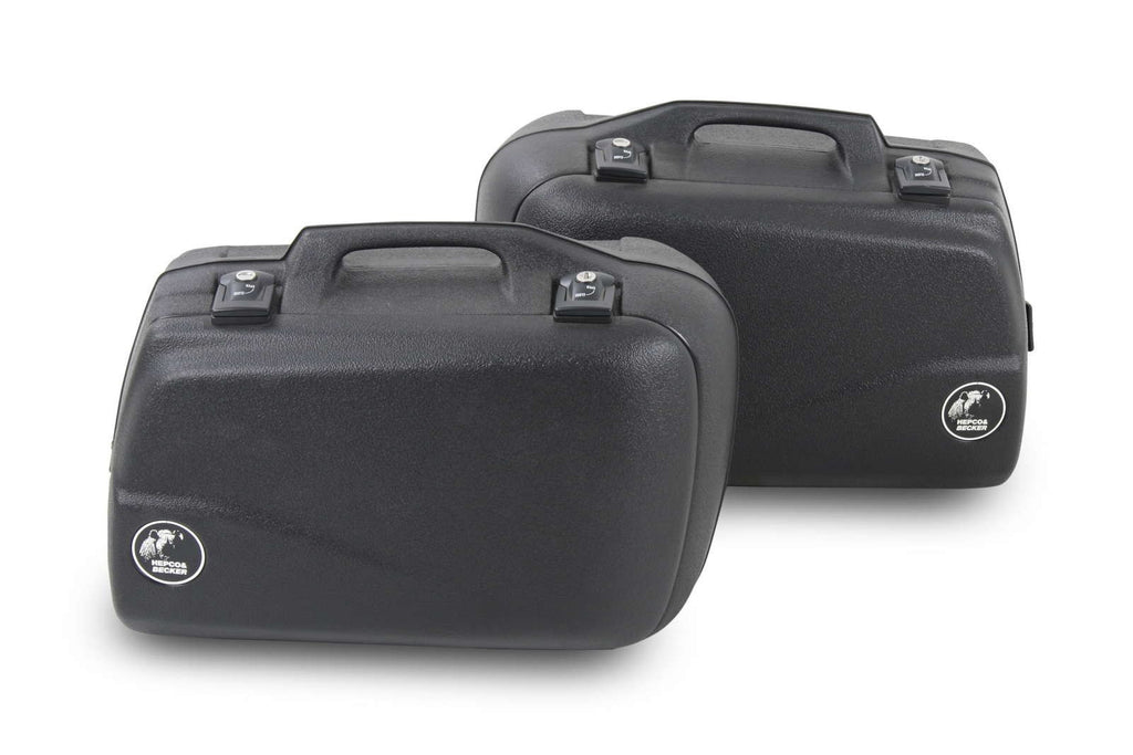Sidecases 40L Junior series black (Pair) - Bike 'N' Biker