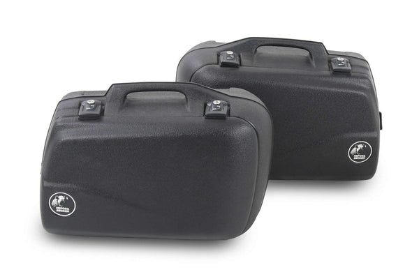 Sidecases 40L Junior series black (Pair)
