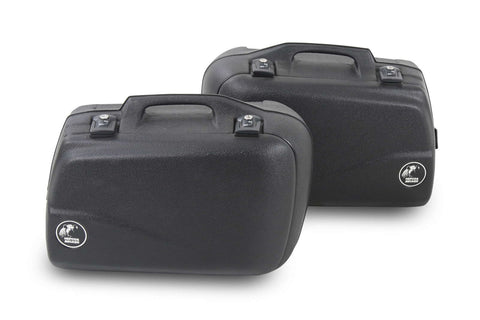 Sidecases 30L Junior Series Black (Pair) - Bike 'N' Biker