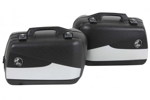 Sidecases 30L Junior Flash Silver (Pair) - Bike 'N' Biker