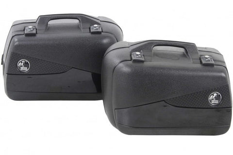 Sidecases 40L Junior Flash Black (Pair) - Bike 'N' Biker