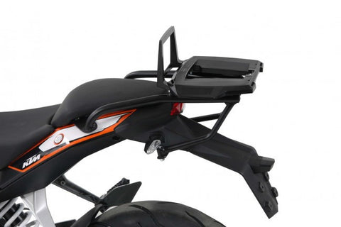 KTM 390 Duke Alu Rack Top case carrier black Hepco Becker