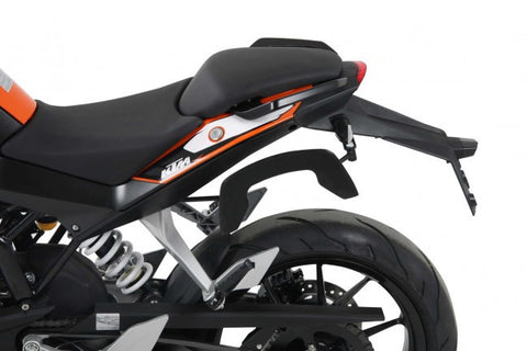 KTM 390 Duke C-Bow soft bag carrier Hepco Becker