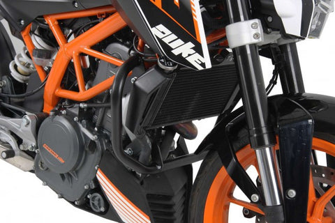 KTM 390 Duke Engine Protection bar black Hepco Becker