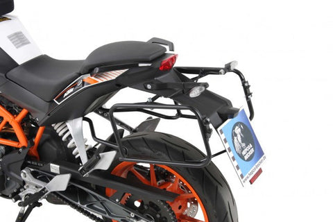 KTM 390 Duke Side carrier black Hepco Becker