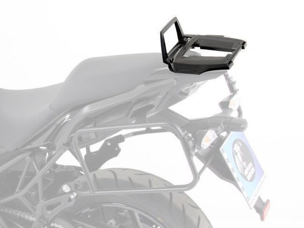 Kawasaki Versys 650 Alu Rack top case carrier black Hepco Becker - Bike 'N' Biker