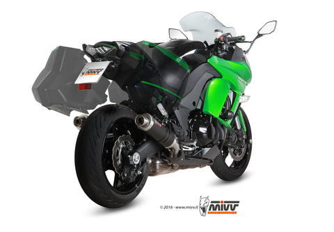 GP Slip On Exhaust for Kawasaki Ninja 1000 - Mivv