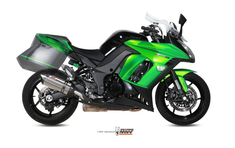 Suono Slip On Exhaust for Kawasaki Ninja 1000 - Mivv