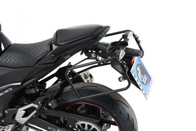 Kawasaki Z 800 & E Version Side carrier Lock it black Hepco Becker - Bike 'N' Biker