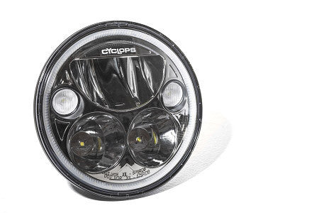 LED Headlight Phoenix  DOT - 5 3/4 , 7 and Oval - Bike 'N' Biker